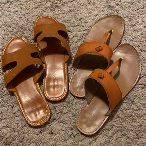 Women's brown sandals